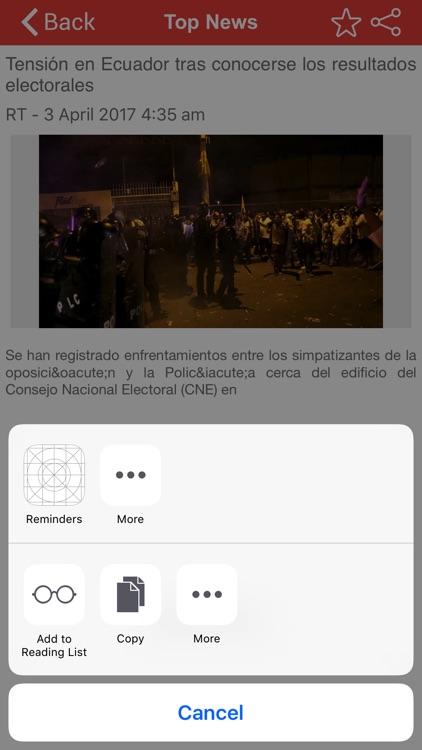 Top Ecuador News screenshot-4