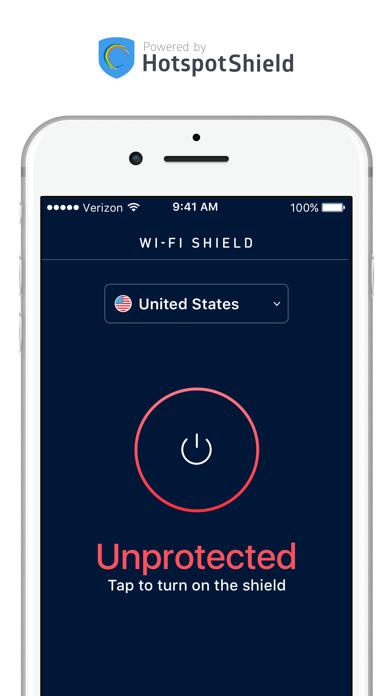 WI-FI SHIELD app image