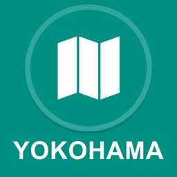 Yokohama, Japan : Offline GPS Navigation