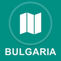 Bulgaria : Offline GPS Navigation