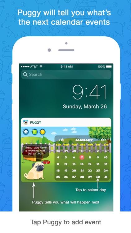 Puggy - Pug widget & emoji