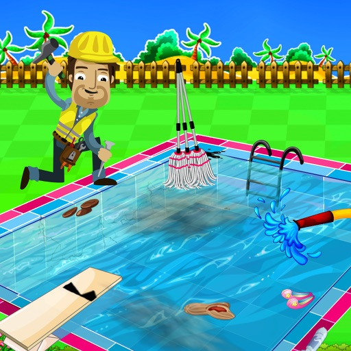 Swimming Pool Repair & Cleanup- Cleaning Game iOS App