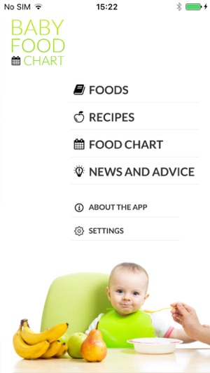 Baby food chart on the app store iphone screenshots forumfinder Image collections