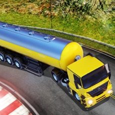 Activities of Oil Tanker Fuel Transporter Truck Driver Simulator
