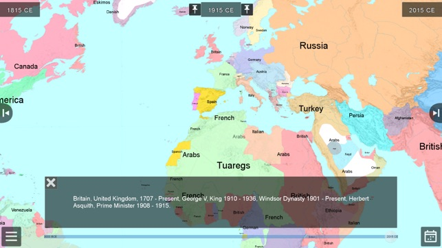 World history maps the world on the app store screenshots gumiabroncs Images