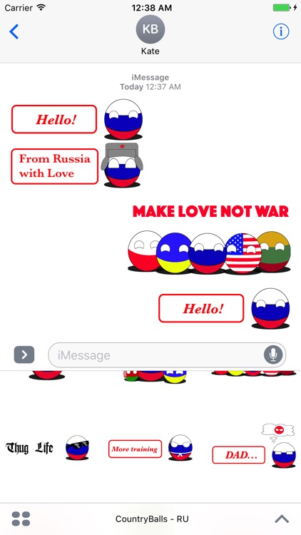 CountryBalls- RU screenshot-1