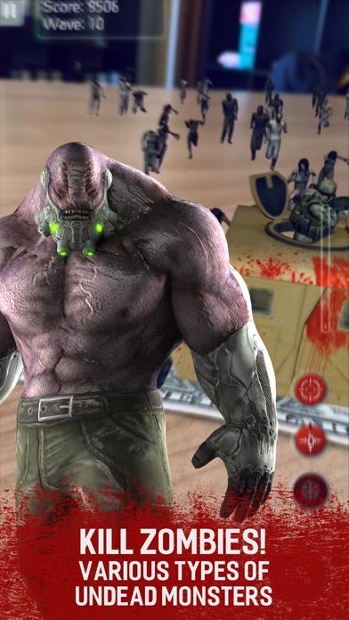 Zombie Last Stand: Augmented dead frontier war z screenshot one
