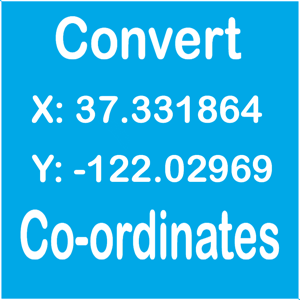Coordinate Converter - Latitude & Longitude app