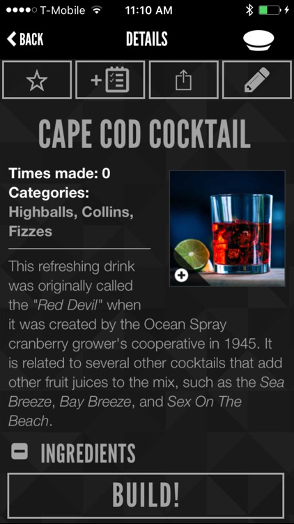 Perfect Drink: Interactive cocktail recipe app screenshot-3