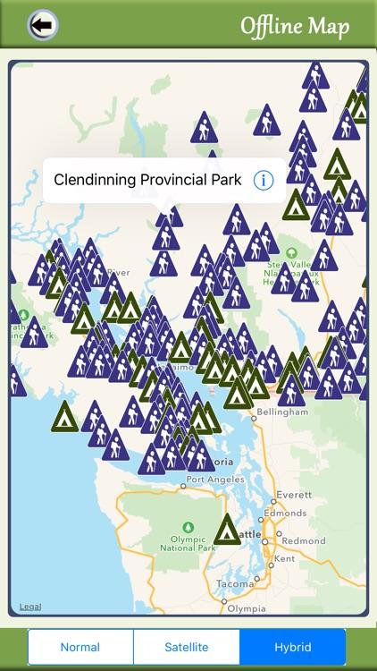 British Columbia Camping & Hiking Trails