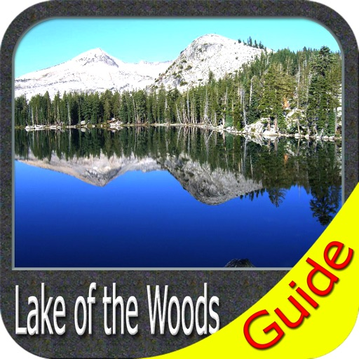 Boating Lake of the Woods GPS map Fishing chart