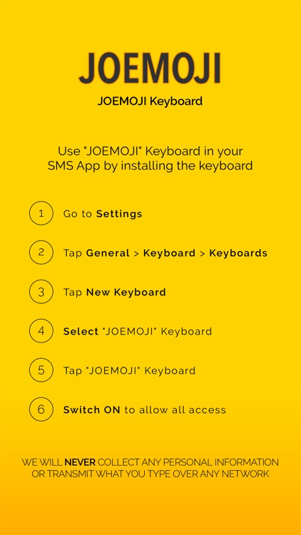 JOEMOJI Keyboard