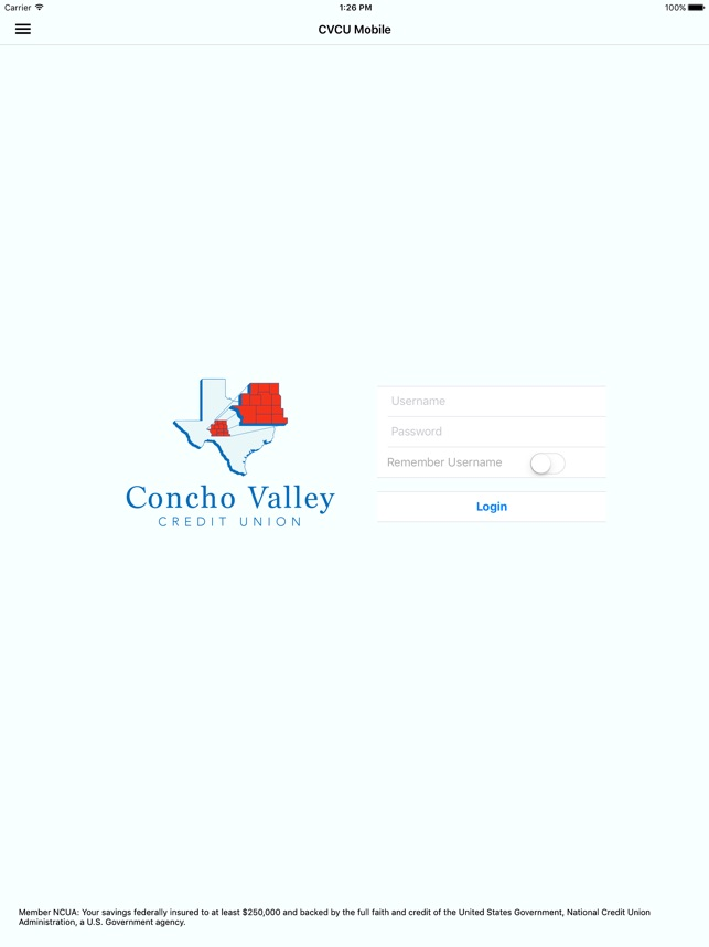 Concho Valley Credit Union On The App Store