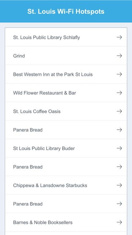 St Louis Wifi Hotspots