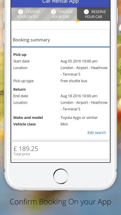 Car Rentals App by Car Rental Choice Limited