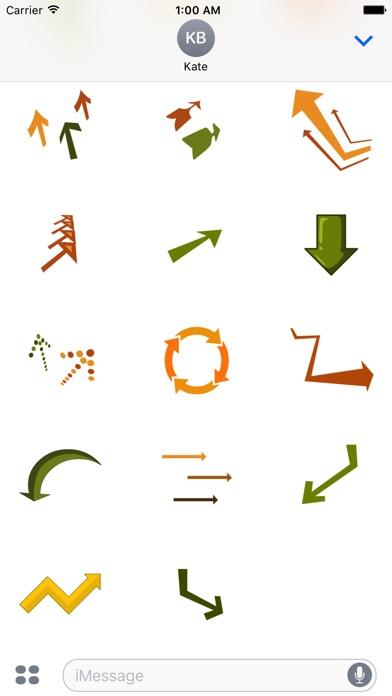 arrow stickerScreenshot von 3