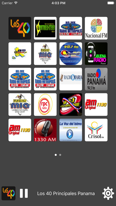 Radio Panama - All Radio Stations screenshot one