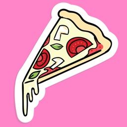 Cartoon Doodle Food and Fun Sticker Pack
