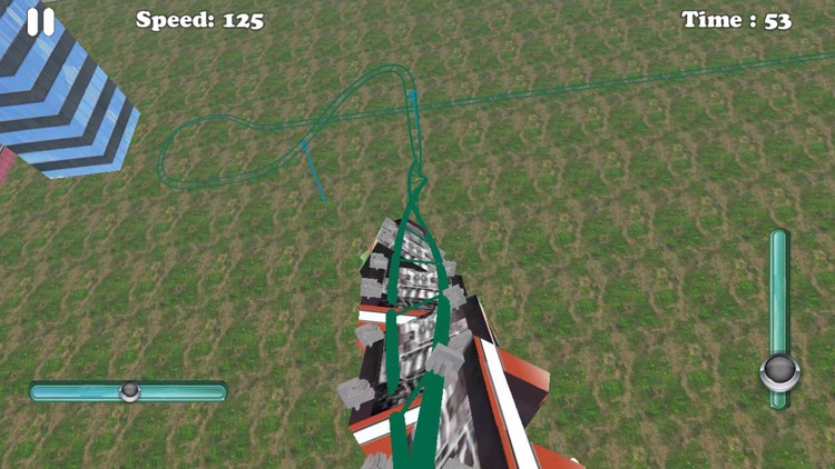 Mountain Roller Coaster Simulator
