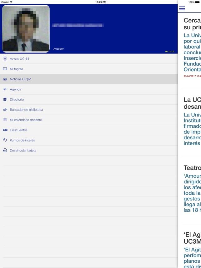 Calendario Uc3m.Uc3m Tui On The App Store