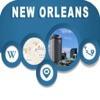 New Orleans LA Offline City Maps Navigation