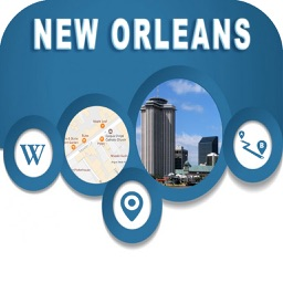 New Orleans LA Offline City Maps Navigation