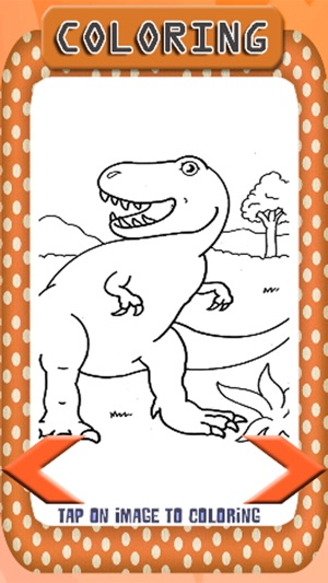 Dinosaur Coloring Book For Kids And Preschool On The App Store