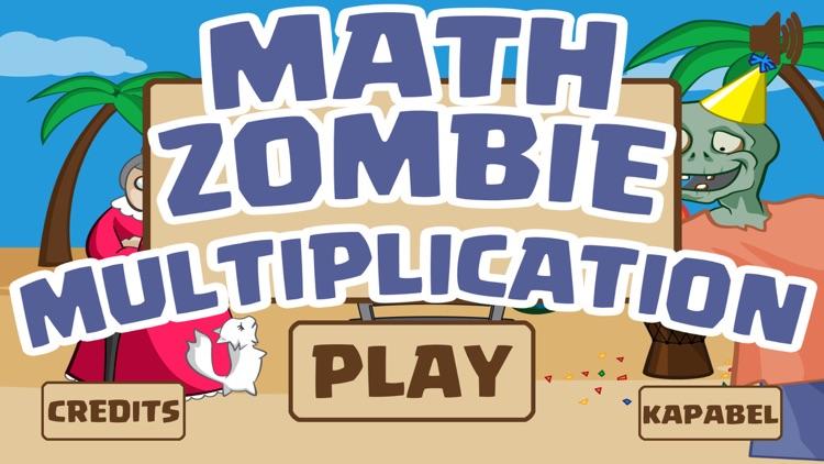 Math Zombie - Multiplication