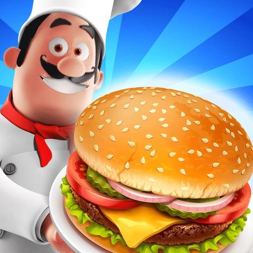 Food Cafe Kitchen Chef : Cooking Maker kids Games