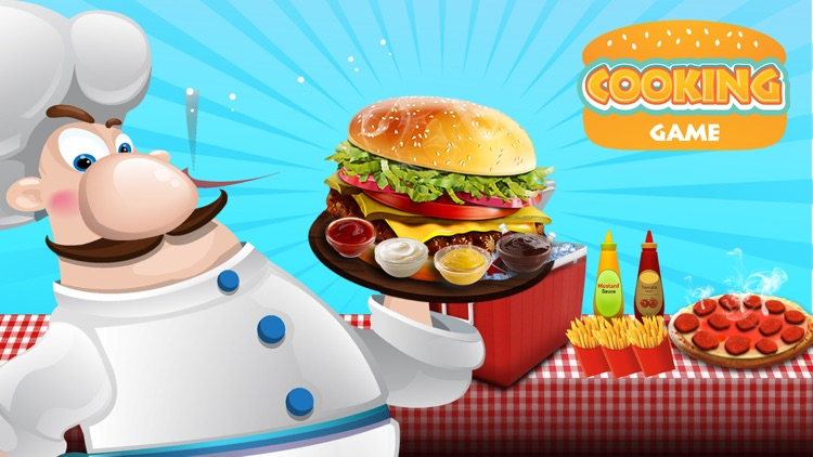 Cooking Games Burger - Kitchen Chef & Food Maker screenshot-3