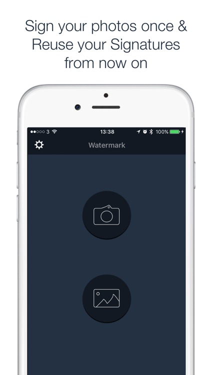 Watermark - Sign your photos & embrace your brand