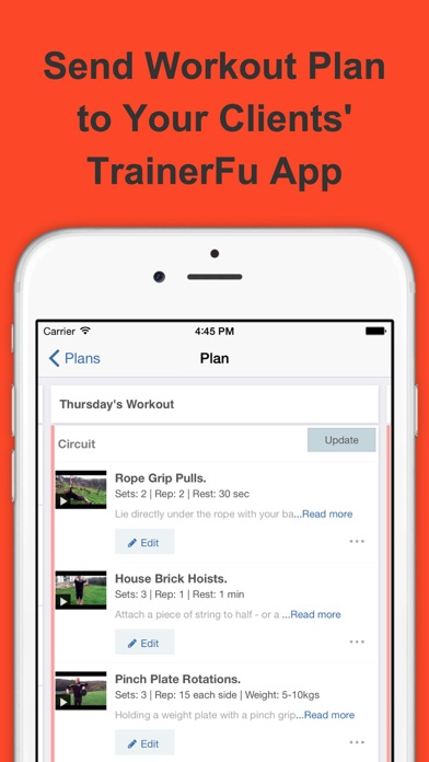 TrainerFu - App for Personal Trainers and Clients app image