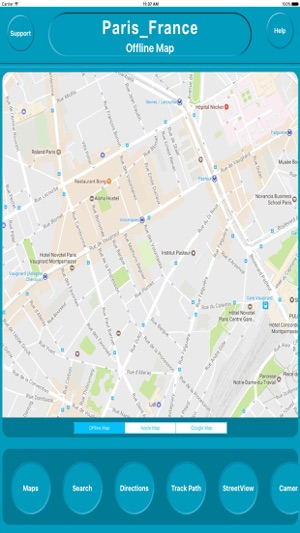 Paris France Offline City Maps With Navigation On The App Store
