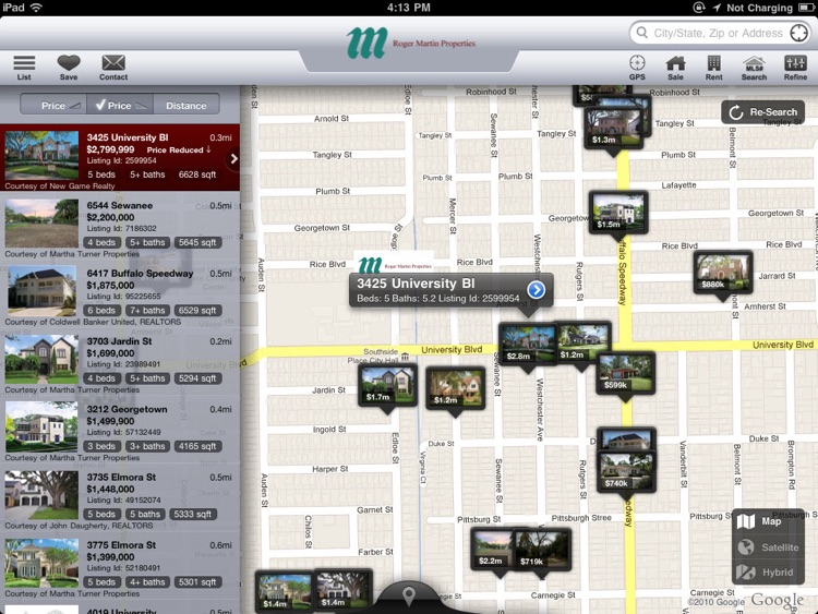 West University Real Estate for iPad screenshot-0