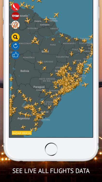 Air BR Free : Live flight Status & Radar screenshot-0