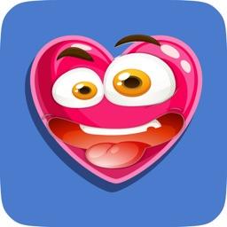 Cartoon Hearts Emojis