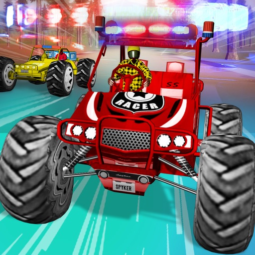 Dune Buggy Cops Race