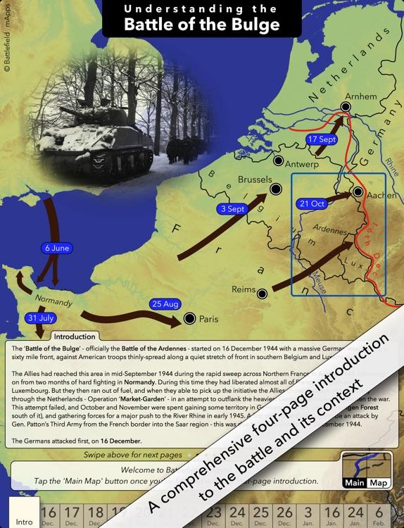 Battlefield mApps: Battle of the Bulge screenshot-4