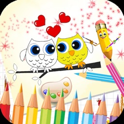 kiss Coloring Book : love your princess - Color me