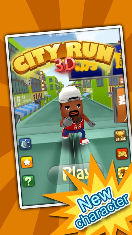 3D City Run-The world's most classic Parkour game screenshot-0