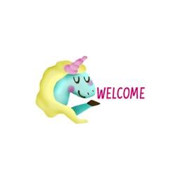 Unicorns stickers by meltem