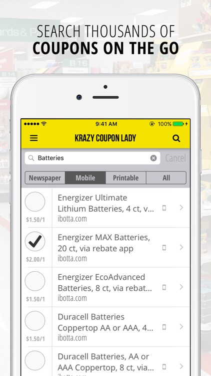 Krazy Coupon Lady | Grocery Coupons & Deals screenshot-3