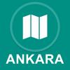 Ankara, Turkei : Offline-GPS-Navigation