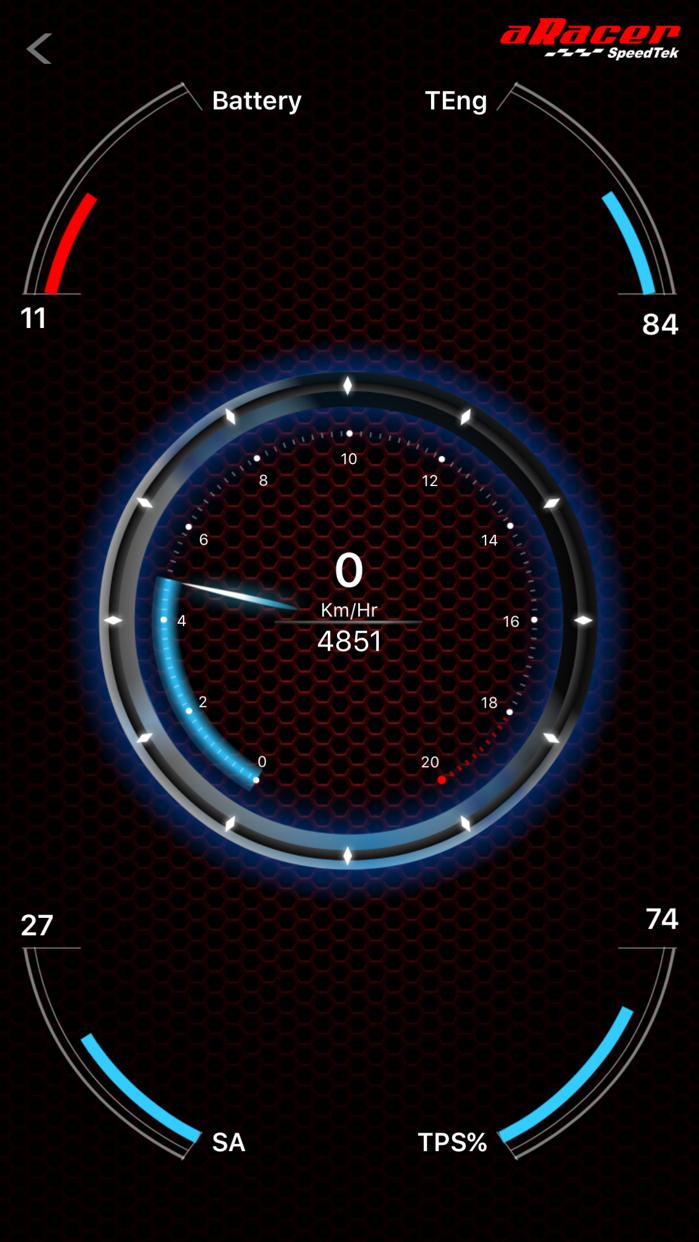 aRacerMobile Screenshot