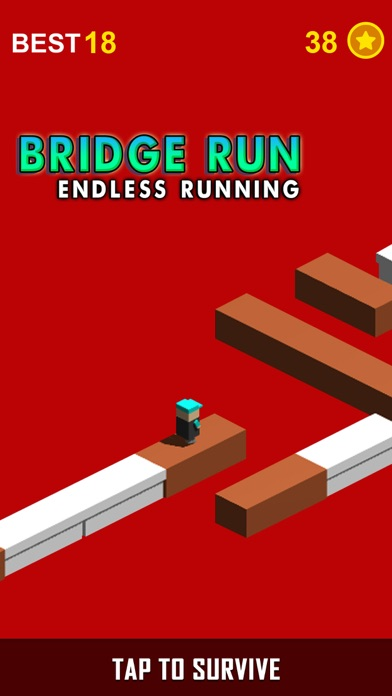 Bridge Run – Endless Running screenshot one