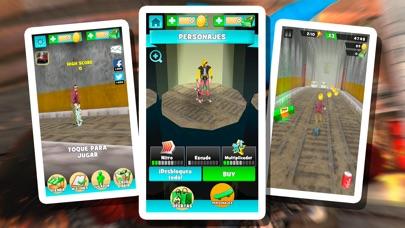 天天滑板少年 - 梦幻中国3d极限跑酷3d App 截图