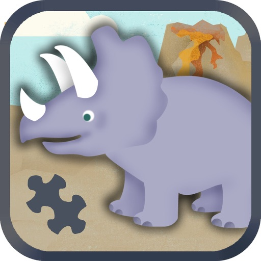 Dinosaur Games for Kids: Puzzles iOS App