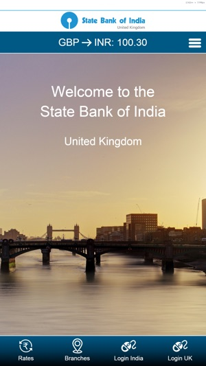 state bank of india branches in uk