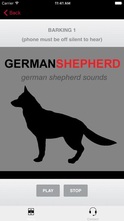 German Shepherd Sounds & Dog Barking Sounds