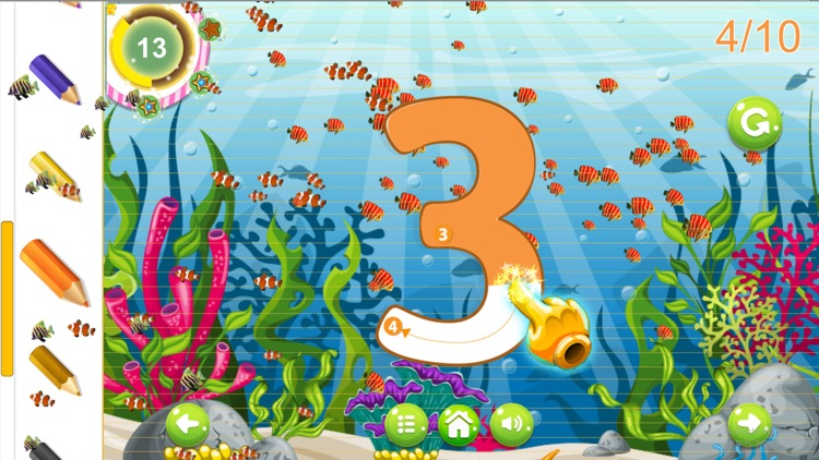 Abc Alphabet Learning - Number Tracing For Toddler screenshot-3